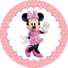 Minnie Rosa – Kit festa infantil grátis para imprimir – Inspire sua Festa ® Mickey Mouse E Amigos, Mickey E Minnie Mouse, Mickey Mouse And Friends, Minnie Y Daisy, Pink Minnie, Minnie Mouse Background, Disney Clipart, Minnie Birthday, Mouse Parties