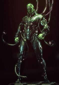 Please Please Please use Brainiac in the second Superman movie, and make him look like this!!!!!