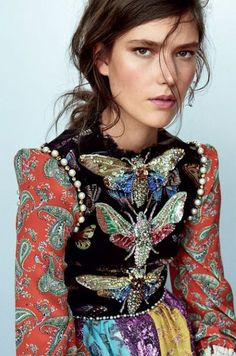 Harper's Bazaar Germany August 2017 Zuzu Tadeushuk by Regan Cameron Fashion Mode, Fashion Week, Couture Fashion, High Fashion, Womens Fashion, Fashion Trends, Gucci Fashion, Estilo Folk, Mode Lookbook