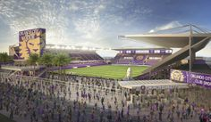 Orlando City SC Unveils Renderings for New Downtown Major League Soccer Stadium