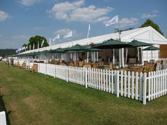 Temple Island Enclosure, the finest riverside hospitality at Henley Royal Regatta, celebrating over 25 years at the Regatta, provided by Ambro Events. Henley Royal Regatta, Henley On Thames, Rowing, Fencing, Tents, Hospitality, Cricket, Temple, Patio