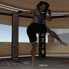 Alysha's Solo Workout 04 by Drusatis