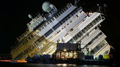 Diver drowns after getting trapped underwater during Costa Concordia salvage attempt - NEWS.COM.AU #CostaConcordia