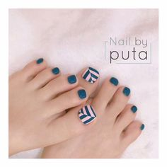 toenails, summer toenails toenail designs for summer, simple pedicures, hot toenails 2019 Pretty Toe Nails, Cute Toe Nails, My Nails, Pedicure Nail Art, Toe Nail Art, Pedicure Design, Pedicure Colors, Metallic Nails, Acrylic Nails
