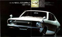 日産 1973 ダットサン・サニー・セダン(B210型)
