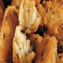 Receita de Bolinho de arroz com hortelã