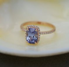 Hey, I found this really awesome Etsy listing at https://www.etsy.com/listing/252788694/rose-gold-sapphire-ring-213ct-blue