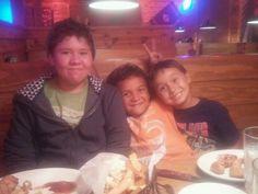 Brandon, Stevie & Jr