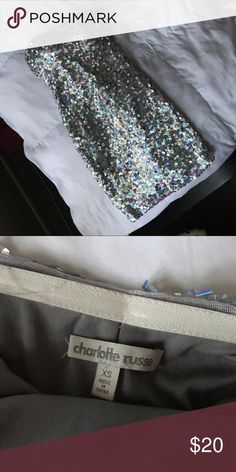 Gorgeous sequin dress Strapless, excellent condition Dresses Strapless