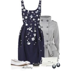 coast dress, created by mrsdanley on Polyvore
