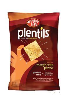 Plentils - Margherita Pizza - gluten free, soy free, dairy free, nut free, casein free