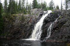 Hepoköngäs on yksi Suomen korkeimmista luonnonvaraisista vesiputouksista. #puolanka #finland