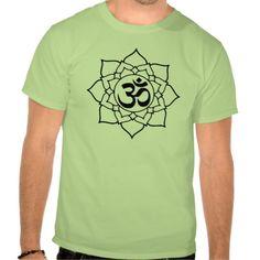 Om Symbol Lotus, Sanskrit T-shirt sold to Malaysiathank you!
