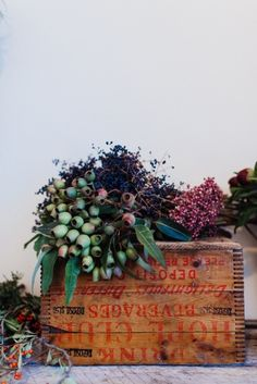 Flowers from Wild Folk Studio via Gardenista