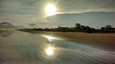 Mas é claro que o sol... Pôr-do-Sol em Peruíbe, SP, Brasil