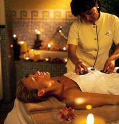 Day one: hot stone massage