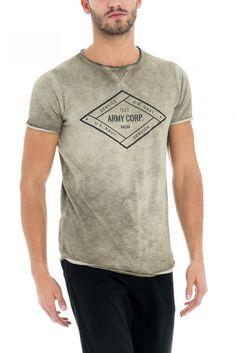 Salsa Store - T-Shirt tema militar - Army Corp.