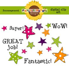 FREE Clip Art for Teachers - FREE36 individual pieces of art in png and jpg format(including two full page previews)These are great for encouragement. Can be used commercially for personal project but please read details in Terms of Use.Terms of UseThe graphics are designed for personal and small business use.