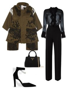 """""""Untitled #2368"""" by nava16 ❤ liked on Polyvore featuring Antonio Marras, Ermanno Scervino and Prada"""