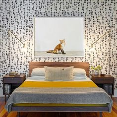 bed side sconces Rethink Design Studio shared the bedroom they designed for the Bartow Point Drive residence.