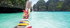 Amazing blue waters and exotic islands