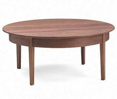 Strafford Coffee Table. From Pompanoosuc Mills. American hardwood furniture. Hand crafted in Vermont.