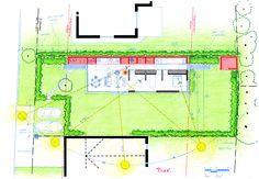 Elements Workshop - Nort-sur-Erdre House - France - Plan