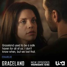 Can they ever go back? #GracelandTV #2X10