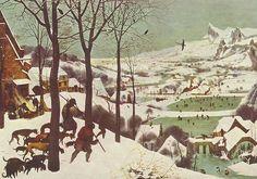 """Pieter Bruegel's """"The Hunters in the Snow"""""""