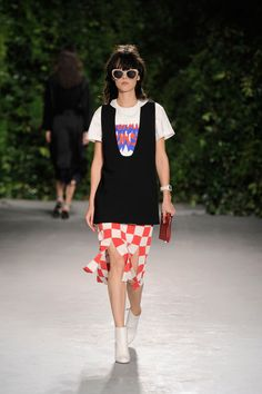 Opening Ceremony Spring 2016 Ready-to-Wear Fashion Show - Mae Mei Lapres