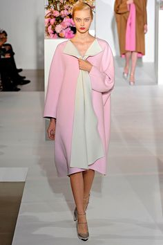 so pink and lovely jil sander.