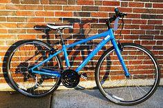 Our favorite hybrid bike, the Trek 7.2 FX.
