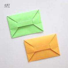 Paper Envelopes | Follow @ventunoart #diy #diycrafts #diyvideos #diytutorial #diyproject #easydiy #papercraft #envelope #paperfolding…