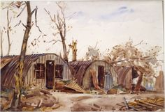 Nissen Huts, Near Bapaume
