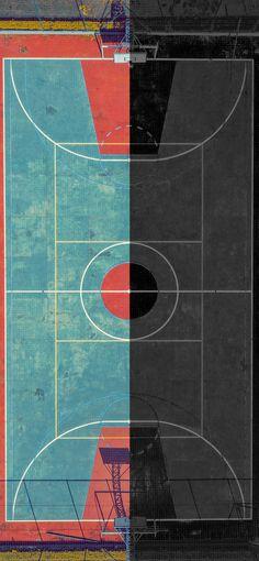 Basketball Court iPhone Wallpaper   10+ Amazing iPhone Backgrounds   Juxtapose Edition   iGeeksBlog