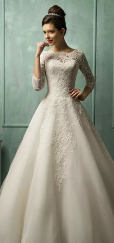 7 vestidos de noiva para mulheres com quadril largo
