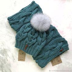 Купить Комплект женский: шапка,снуд в интернет магазине на Ярмарке Мастеров