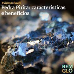 Quem ignora os poderes de cura da natureza, não sabe o que está perdendo. Vem saber mais sobre a pedra Pirita e seus benefícios no post de hoje!