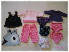 Baby Born Clothes, Barbie Clothes, Two Piece Skirt Set, Rompers, Dolls, Sewing, Skirts, Crafts, Dresses