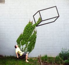 , 10 #Fantastic Examples of Street #Art Fusing with...