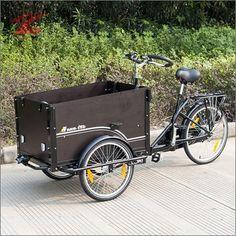 ZNL Neu Lastenfahrrad Kinder Transportrad FT-9005 Farbe:S/B