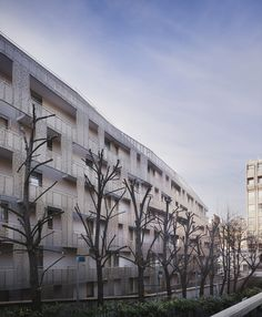 Student Hall of Residence + Family Homes,Courtesy of Babled Nouvet Reynaud Architectes