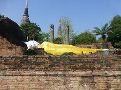 Travel.  Ayutthaya, Thailand.  temples