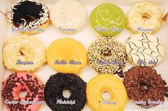 J.Co Donuts Flavors