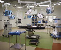 7th floor operating room at the new Ann & Robert H. Lurie Children's Hospital of Chicago http://tour.luriechildrens.org/