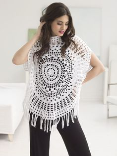 Just in time for summer! You're going to want to get stitching on this adorable Key West Circle Top that you'll be wearing all season. This top pairs a simple shape with fabulousfringe…