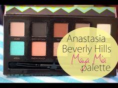 Anastasia Maya Mia palette tutorial