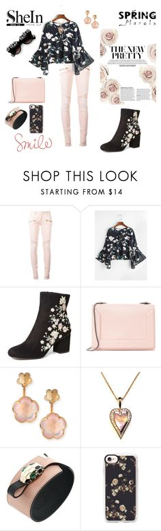 """""""Smile"""" by agnesmakoni ❤ liked on Polyvore featuring Balmain, Dorothy Perkins, 3.1 Phillip Lim, Pasquale Bruni, Bulgari and Casetify"""