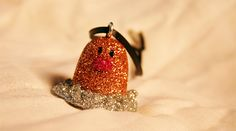 Diglett Pokemon Glitter Ornament by PokeBaubles on Etsy, $8.00