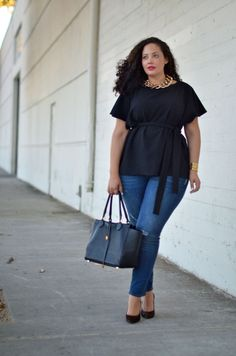 Girl With Curves: Wearing Lately. Tanesha Awastathi is my role model. So fab.